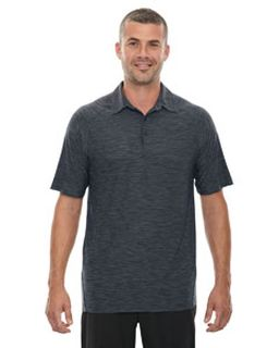Mens Barcode Performance Stretch Polo-