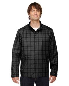 Mens Locale Lightweight City Plaid Jacket-North End