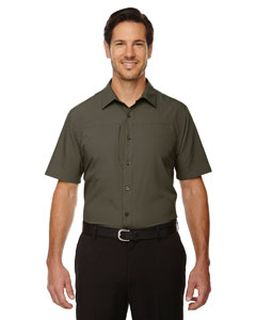 Mens Charge Recycled Polyester Performance Short-Sleeve Shirt-