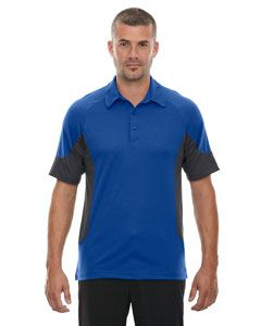 Mens Refresh Utk Cool'Logik� Coffee Performance Melange Jersey Polo-