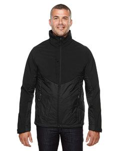 Mens Innovate Insulated Hybrid Soft Shell Jacket-North End