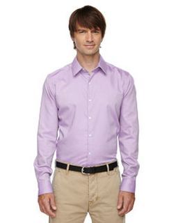 Mens Refine Wrinkle-Free Two-Ply 80s Cotton Royal Oxford Dobby Taped Shirt-