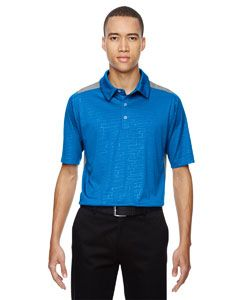 Mens Reflex Utk Cool Logik™ Performance Embossed Print Polo-