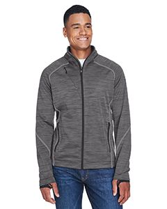 Mens Flux Melange Bonded Fleece Jacket-