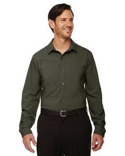 Mens Rejuvenate Performance Shirt With Roll-Up Sleeves-