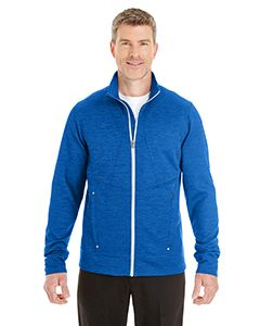 Mens Amplify Melange Fleece Jacket-