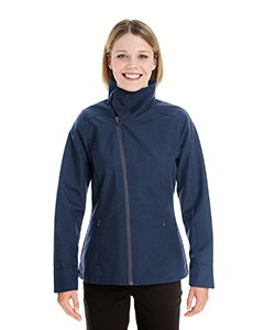 Ladies Edge Soft Shell Jacket With Convertible Collar-