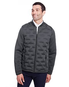 Mens Loft Pioneer Hybrid Bomber Jacket-North End