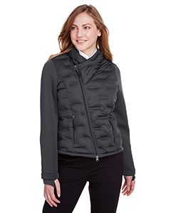 Ladies Loft Pioneer Hybrid Bomber Jacket-North End