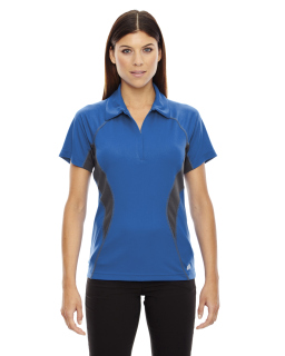 Ladies Serac Utk Coollogik™ Performance Zippered Polo