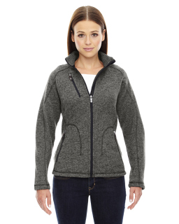 Ladies Peak Sweater Fleece Jacket