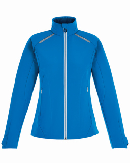 Ladies Excursion Soft Shell Jacket With Laser Stitch Accents
