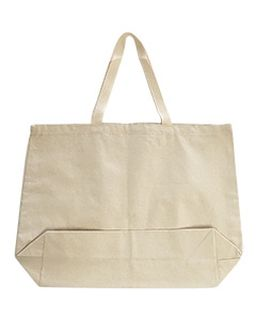 Medium 12 Oz Gusseted Tote-OAD