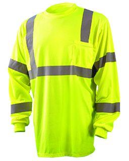 Mens Long Sleeve Wicking Birdseye Shirt-