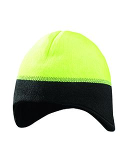 Unisex Reflective Ear Warming Beanie-