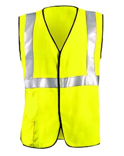 Mens Classic Flame Resistant Hrc2 Solid Vest-OccuNomix
