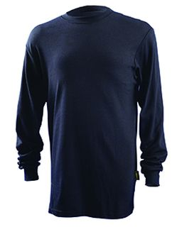 Mens Classic Flame Resistant Long Sleeve Hrc 2 T-Shirt-