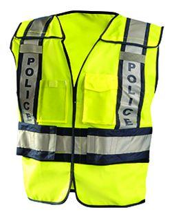 Mens Premium Solid Public Safety Police Vest-