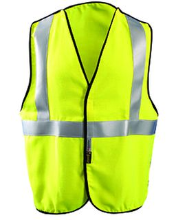 Mens Premium Flame Resistant 5-Pt. Break-Away Solid Hrc 1 Vest-