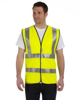 Premium Solid Dual Stripe Vest, Class 2-