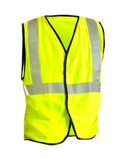 Mens High Visibility Premium Flame Resistant Solid Vest-