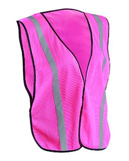 Mens Ladies Value Silver Bead Mesh Vest-