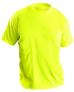 Mens Wicking Birdseye Non-Ansi T-Shirt-OccuNomix