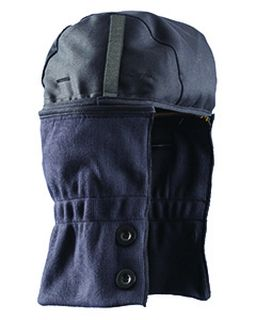 Mens Premium Flame Resistant Shoulder-Length Two-Way-Navy Hrc 2 Liner-