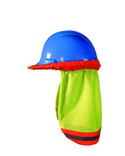 Mens High Visibility Shaded Mesh Hard Hat-