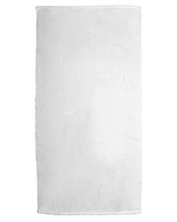 Platinum Collection 35x70 White Beach Towel-