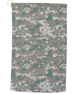 Large Camo Golf Towel-