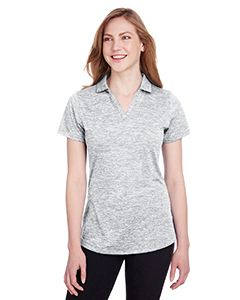 Ladies Icon Heather Polo-