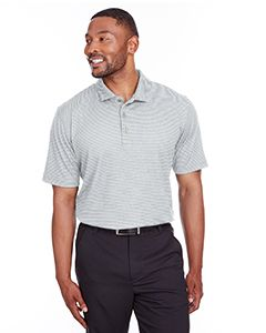 Mens Performance Stripe Polo-