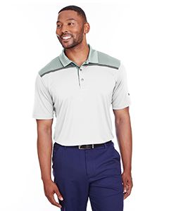 Mens Bonded Colorblock Polo-