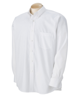Mens Long-Sleeve Non-Iron Pinpoint