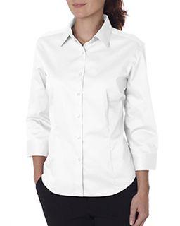 Ladies 3/4-Sleeve Dress Twill