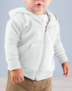 Infant Zip Fleece Hoodie-BR_RBS