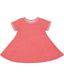 Toddler Girls Harborside Melange French Terry Twirl Dress-