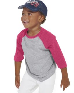 Toddler Baseball T-Shirt-Rabbit Skins