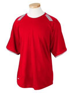 Dri-Power® T-Shirt With Colorblock Inserts-Russell Athletic