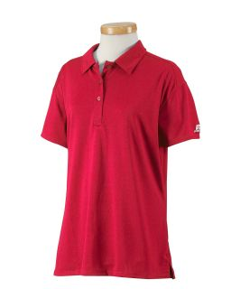 Ladies Team Essential Polo-Russell Athletic