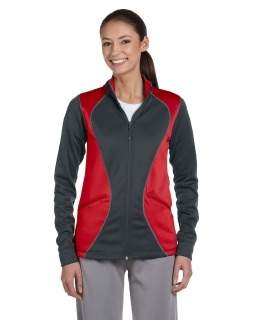 Ladies Tech Fleece Full-Zip Cadet-Russell Athletic