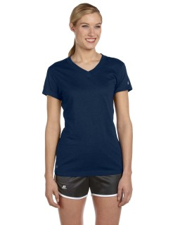 Ladies Dri-Power® V-Neck T-Shirt-Russell Athletic