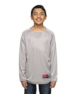 Youth 8 Oz., Polyester Fleece Crew-