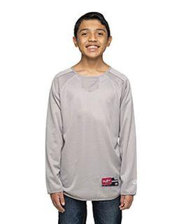 Youth 8 Oz., Polyester Fleece Crew-
