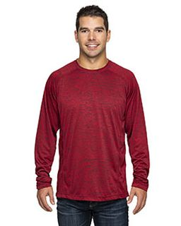 Adult Perfomance Cationic Long-Sleeve Crewneck-Rawlings