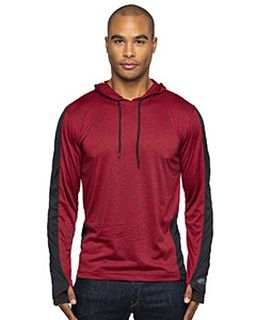Adult 4.4 Oz., Perfomance Cationic Hooded T-Shirt-Rawlings