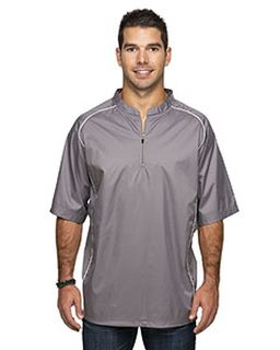 Adult Short Sleeve 1/4-Zip Poly Dobby Jacket-Rawlings