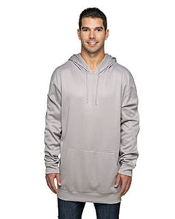 Adult 8.8 Oz., Polyester Fleece Pullover Hooded Sweatshirt-Rawlings