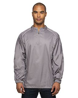 Adult 1/4-Zip Poly Dobby Jacket-Rawlings